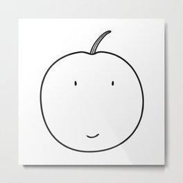 Adam Apple Metal Print