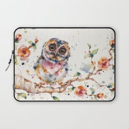 Yep, Cute Is My Middle Name (Owl) Laptop Sleeve