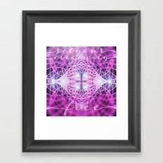 Set Creativity Free Framed Art Print