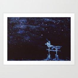 Reaching for Stars Art Print