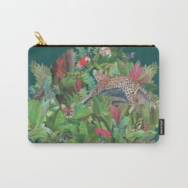 Into the Wild Emerald Forest Carry-All Pouch