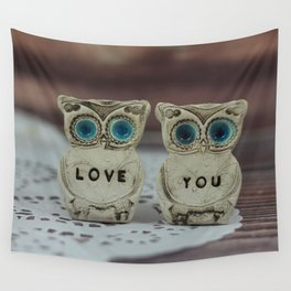 Love you owls Wall Tapestry