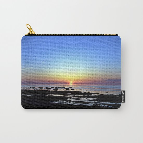 Wonderful Sunset Seascape Carry-All Pouch