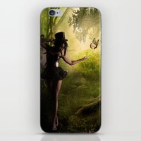tinker bell iPhone & iPod Skins featuring Tinker Bell by Best Light Images