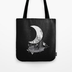 Moon Ship Tote Bag