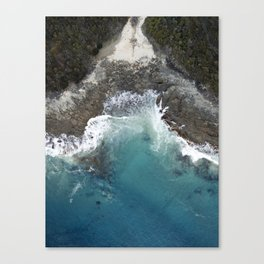 Grey River Canvas Print