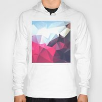 xbox Hoodies featuring Polygonal by eARTh