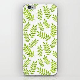 Green Leaf iPhone Skin