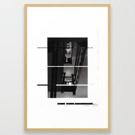 Coppelius IV (deconstructed) Framed Art Print