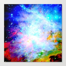 Colorful Universe Canvas Print
