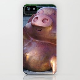 McDull the Pig Cartoon Character iPhone Case