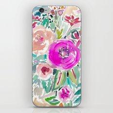 Tough Love Floral iPhone & iPod Skin