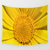 sunshine Wall Tapestries featuring Sunshine by Louisa Catharine Photography