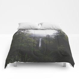 Latourell Falls, OR Comforters