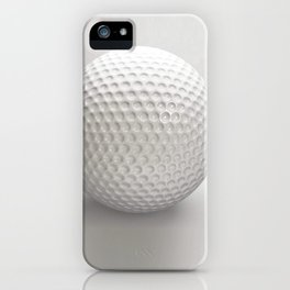 Novelty Golf Ball iPhone Case