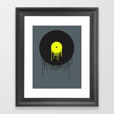 Simply Melting Away. Framed Art Print
