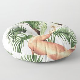 These Boots - Palm Leaves Floor Pillow