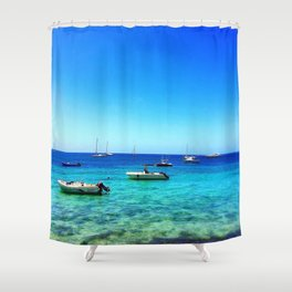 Vieques Floats Shower Curtain