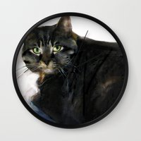 monty python Wall Clocks featuring MONTY by jeanette little