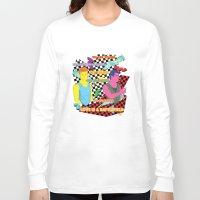 battlefield Long Sleeve T-shirts featuring Love is a battlefield by JetProArt