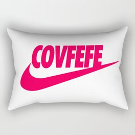 Covfefe [PINK] Rectangular Pillow