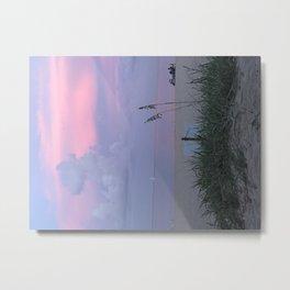 Sunset on Fort Lauderdale Beach Metal Print