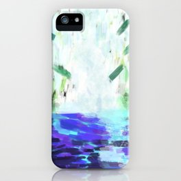 Waterfall in motion iPhone Case