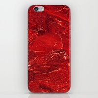 meat iPhone & iPod Skins featuring Meat. by Nathan