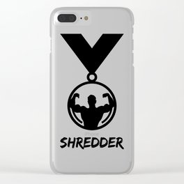 Shredder Clear iPhone Case