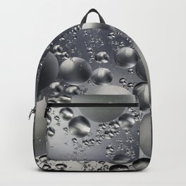 Crazy silver/grey bubbles Backpack