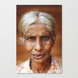 Sri Lankan Soul Canvas Print