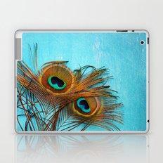 3 peacock feathers Laptop & iPad Skin