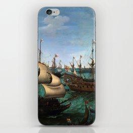 "Hendrik Cornelisz Vroom ""The Arrival of Elector Frederick V of the Palatinate and Elizabeth"" iPhone Skin"