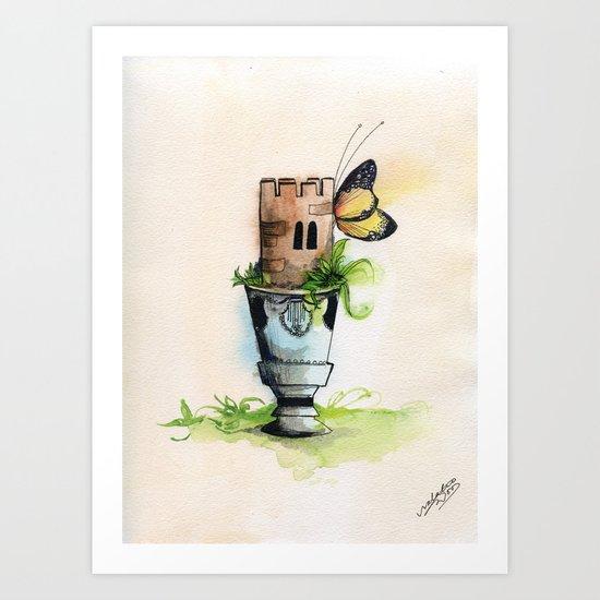 La Tour Mazagran Art Print