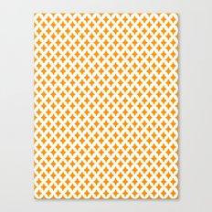 Bazaar 1 Orange Canvas Print