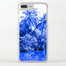 Florida in Blue Clear iPhone Case