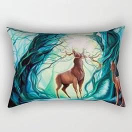 Creation - In the beginning Rectangular Pillow