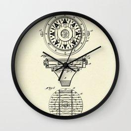 Mariner's Compass-1892 Wall Clock