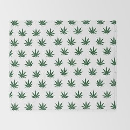 """Keep Calm and Smoke Weed"" Throw Blanket"