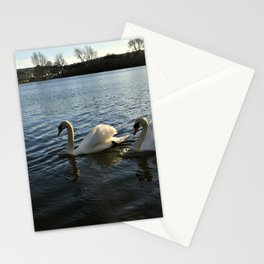 Irish Swans Stationery Cards