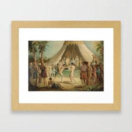 Sir John Everett Millais, Bt 1829–1896   The Wrestlers Framed Art Print