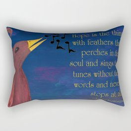 A Song of Hope Rectangular Pillow