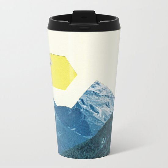 Moving Mountains Metal Travel Mug