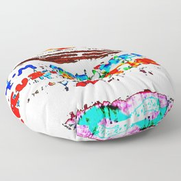 Not All Those Who Wander, Are Lost Floor Pillow