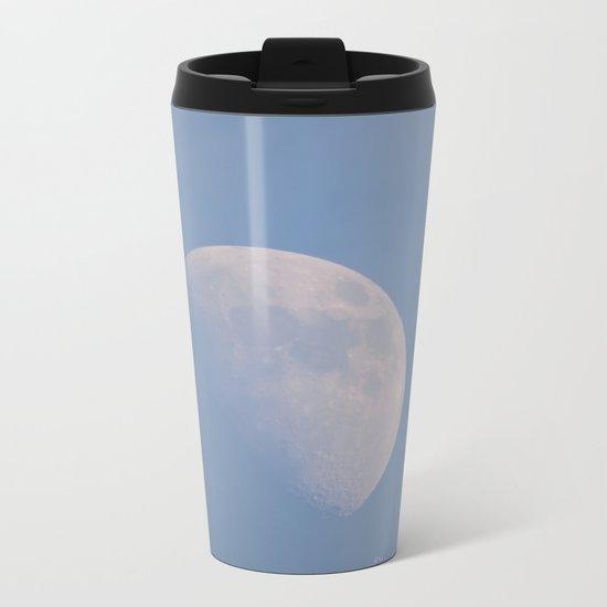 January Half Moon Metal Travel Mug