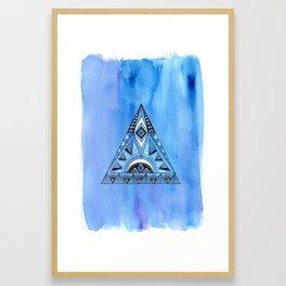 Geometric Triangle 1 Framed Art Print