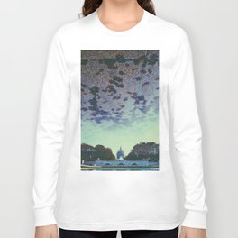 Reflecting On the Capital Long Sleeve T-shirt