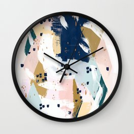Beneath the Surface Wall Clock