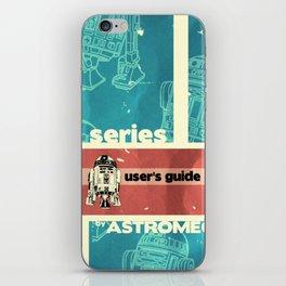 Astromech User's Guide R2-d2 iPhone Skin