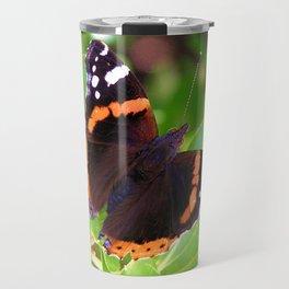 Society6 butterfly Travel Mug